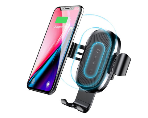Baseus Wireless Car Charger Air Vent Gravity Car Mount Holder