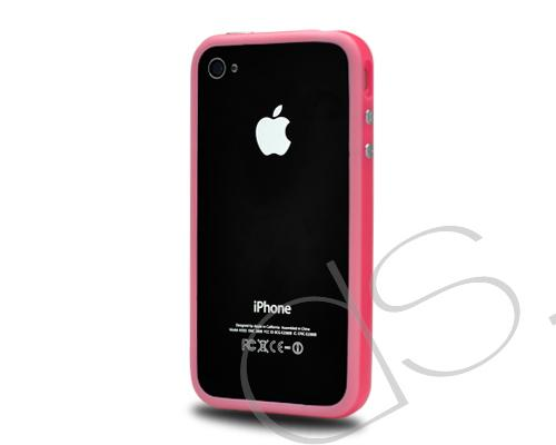 Bumper-Advanced Series iPhone 4 and 4S Case - Pink