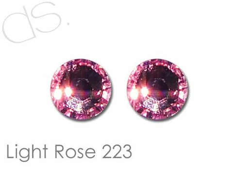 Light Rose 223 Flatback Crystal Rhinestones