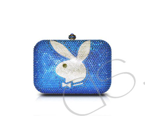 Playboy Crystal Clutch Bag - 12.5cm