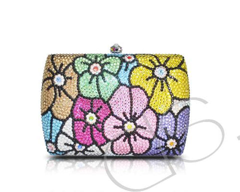 Sweet Bonquet Deluxe Crystallized Clutch - 15cm