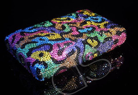 Fantasy Camouflage Crystal Clutch Bag - 16cm
