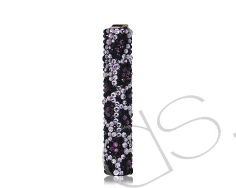 Leopardo Bling Swarovski Crystallized Lighter - Silver
