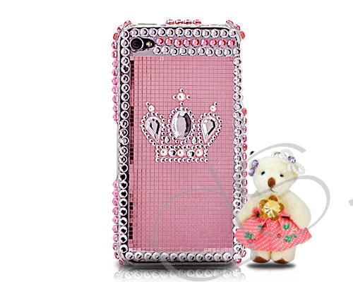 Decora Series iPhone 4 and 4S Crystal Case - Special Bear Pink