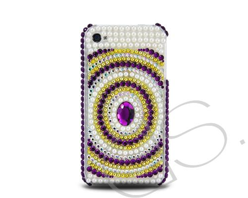 Decora Series iPhone 4 and 4S Crystal Case - Centre