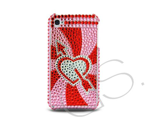 Decora Series iPhone 4 and 4S Crystal Case - Cupid Arrow