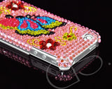 Decora Series iPhone 4 and 4S Crystal Case - Pink Butterfly