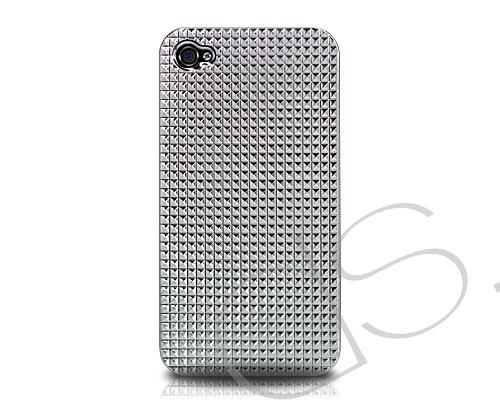 Diamanti Series iPhone 4 and 4S Case - Electro Silver