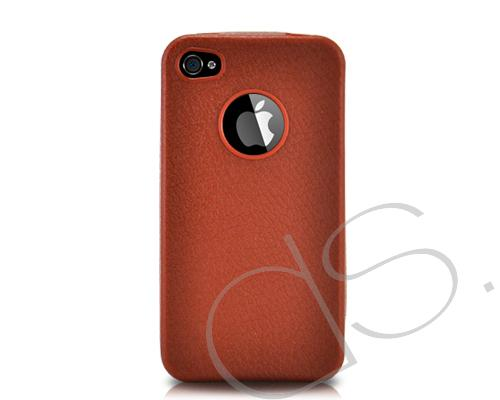 Eternal Series iPhone 4 and 4S Silicone Case - Brown