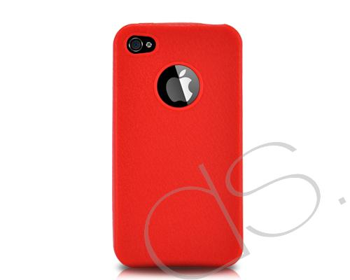 Eternal Series iPhone 4 and 4S Silicone Case - Red