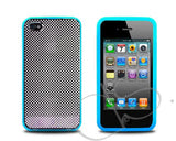 Flip Series iPhone 4 and 4S Full Protection Case - Blue