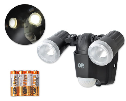 GP Cordless Lights Safeguard RF2 Outdoor Security LED Sensor Light