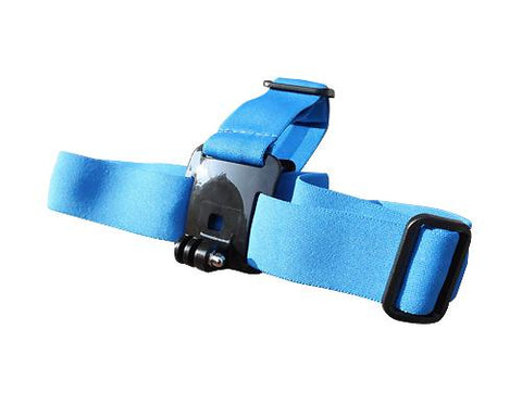 GoPro Head Strap Mount for Hero 1 Hero 2 Hero 3 Hero 3+ Cameras -Blue