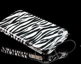 Grafiche Series Full Protection iPhone 4 and 4S Case - Zebra Black