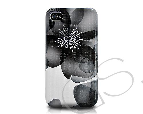 Inflore Series iPhone 4 and 4S Case - Black
