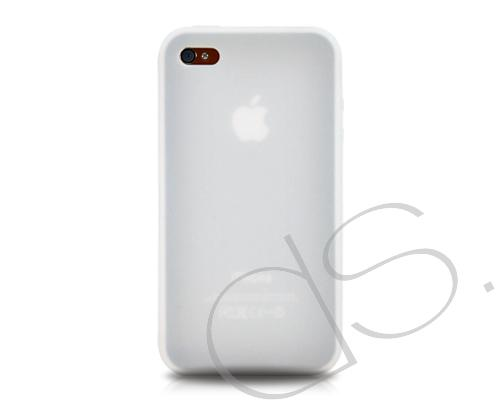 Jelly Series iPhone 4 and 4S Silicone Case - White