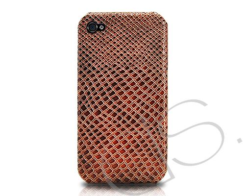 Krokodil Series iPhone 4 and 4S Case - Brown