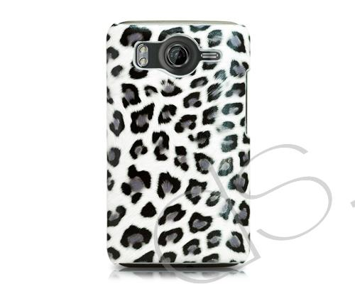Leopard Series HTC Desire HD Case - White