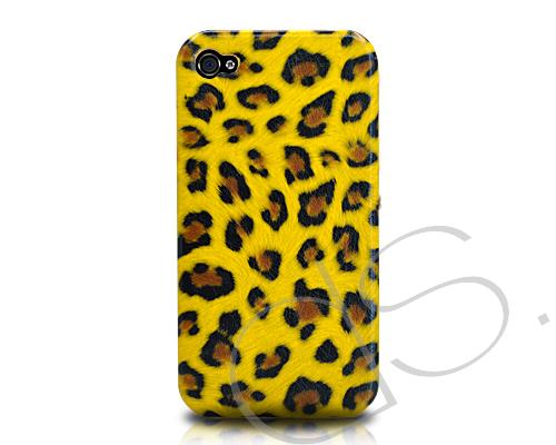 Leopard Series iPhone 4 and 4S Case - Yellow