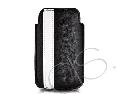 Lofty Series iPhone 4 and 4S Soft Pouch Case - Black