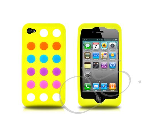 Magic Series iPhone 4 and 4S Silicone Case - Yellow