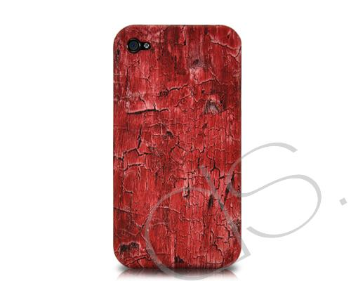 Marble Series iPhone 4 and 4S Case - Red