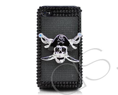 Mystic Series iPhone 4 and 4S 3D Crystal Case - Skull Captain