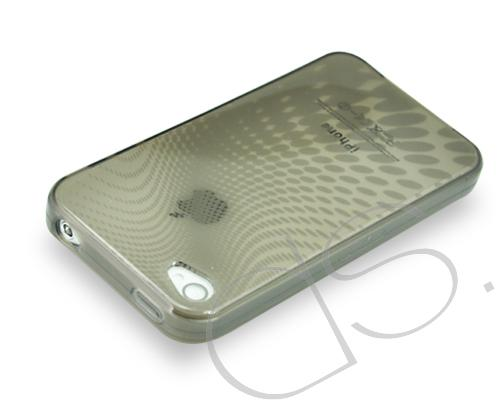Neon Series iPhone 4 and 4S Silicone Case - Gray