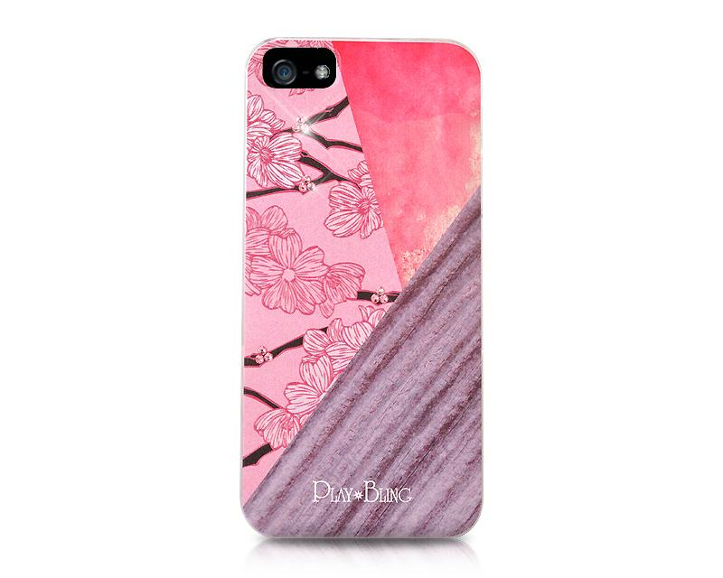 Plum Blossom Bling Swarovski Crystal Phone Cases
