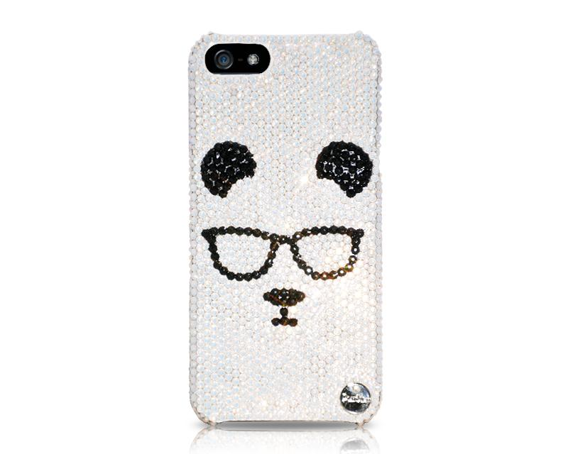 Panda Professional Bling Swarovski Crystal Phone Cases