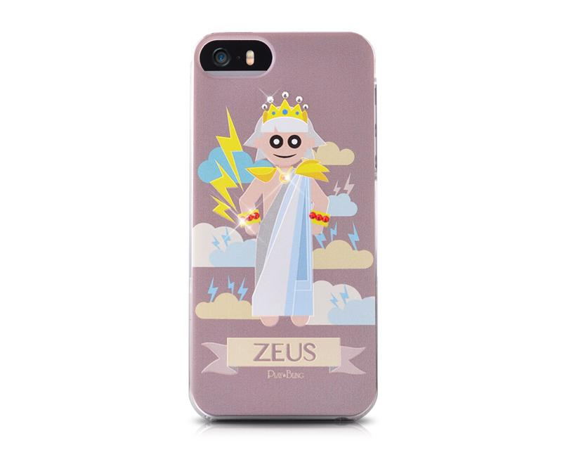 Zeus Bling Swarovski Crystal Phone Cases