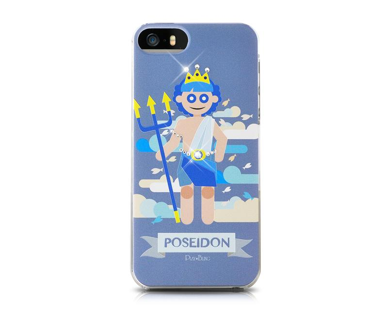 Poseidon Bling Swarovski Crystal Phone Cases