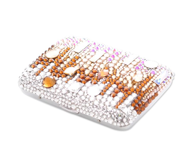 Torrent Bling Swarovski Crystal Cigarette Case