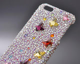 Mini Butterfly Bling Swarovski Crystal Phone Cases - Color