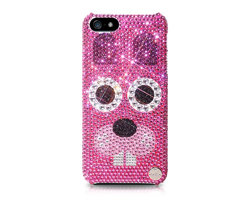 Chinese Zodiac Bling Swarovski Crystal Phone Cases - Rabbit