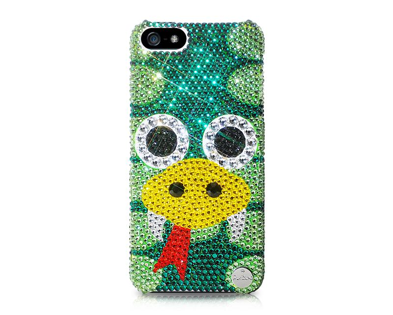 Chinese Zodiac Bling Swarovski Crystal Phone Cases - Snake