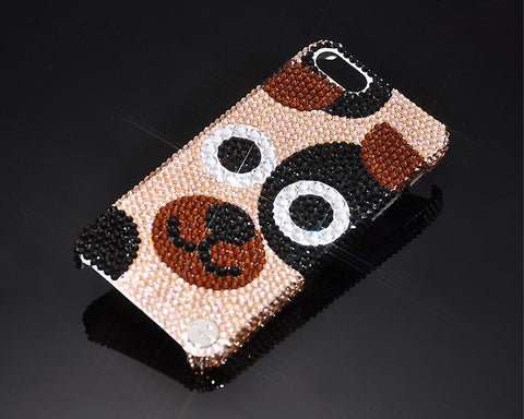 Chinese Zodiac Bling Swarovski Crystal Phone Cases - Dog
