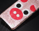 Chinese Zodiac Bling Swarovski Crystal Phone Cases - Pig