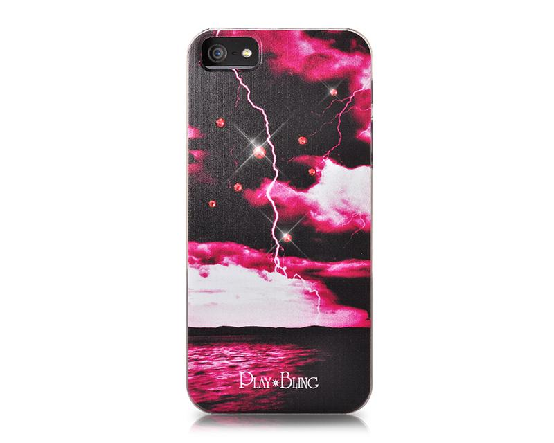 Nature Bling Swarovski Crystal Phone Cases - Thunder