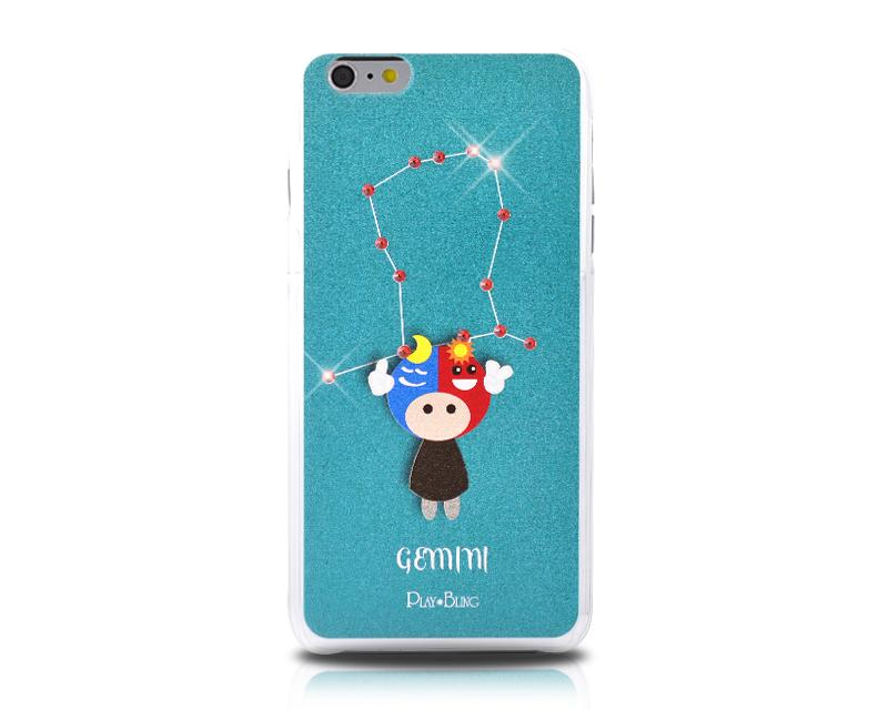 12 Constellation Bling Swarovski Crystal Phone Cases - Gemini