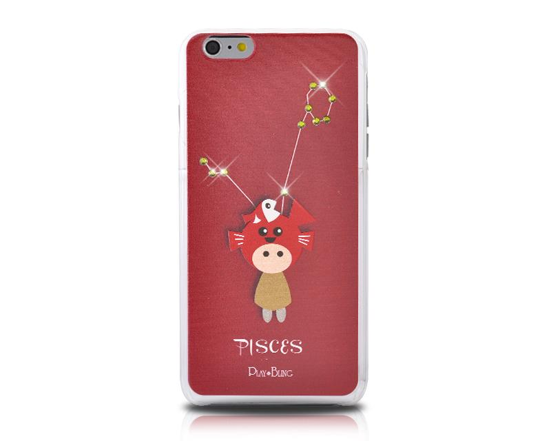 12 Constellation Bling Swarovski Crystal Phone Cases - Pisces