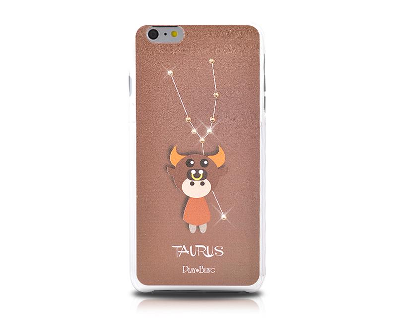 12 Constellation Bling Swarovski Crystal Phone Cases - Taurus