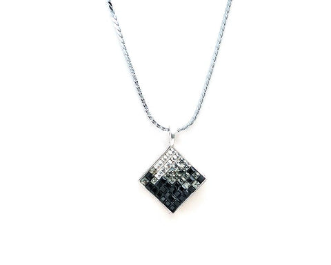 Tactic Bling Crystal Necklace – Black