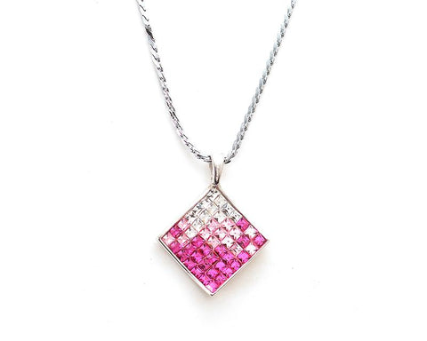 Tactic Bling Crystal Necklace – Pink