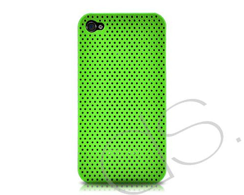 Perforated Series iPhone 4 and 4S Case - Green