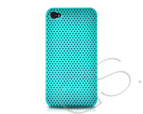 Perforated Series iPhone 4 Case - Ice Blue