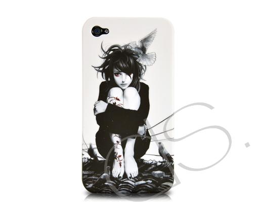 Peri Series iPhone 4 and 4S Case - Black and White