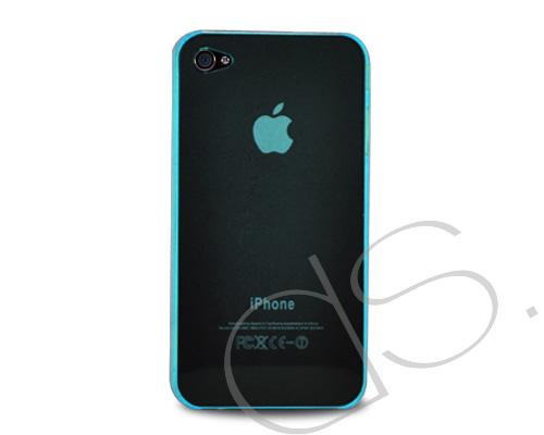 Perla Series iPhone 4 and 4S Silicone Case - Ice Blue