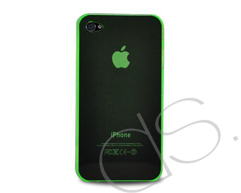 Perla Series iPhone 4 and 4S Silicone Case - Green