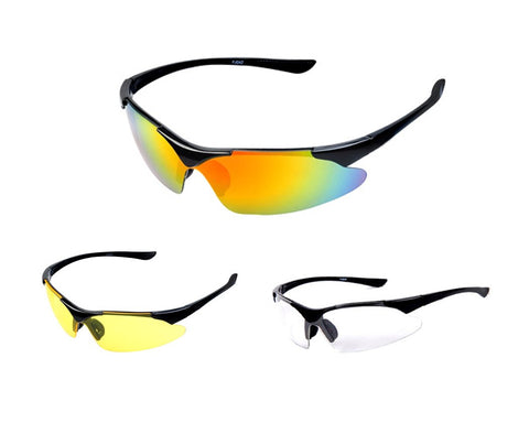 Sports Running UV400 Windproof Sunglasses Cycling Goggles